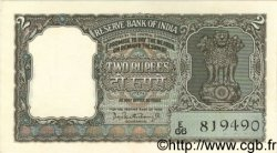 2 Rupees INDE  1962 P.031 SPL