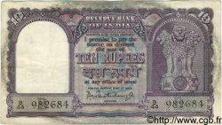 10 Rupees INDE  1962 P.040b TB à TTB