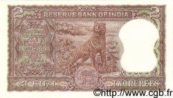 2 Rupees INDE  1962 P.051a SPL