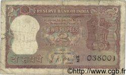 2 Rupees INDE  1967 P.051b B