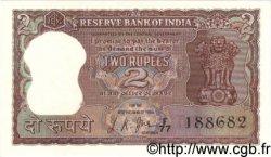 2 Rupees INDE  1967 P.051b SPL