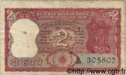 2 Rupees INDE  1977 P.053f B+