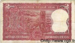 2 Rupees INDE  1977 P.053g B à TB
