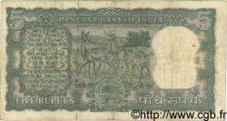5 Rupees INDE  1967 P.054b TB