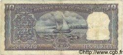 10 Rupees INDE  1967 P.057b TB