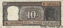 10 Rupees INDE  1975 P.060c B à TB