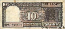 10 Rupees INDE  1984 P.060Ac TB+