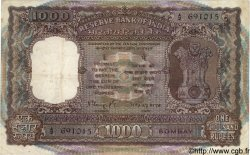 1000 Rupees INDE Bombay 1975 P.065a TB