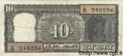 10 Rupees INDE  1967 P.069a TB
