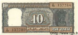 10 Rupees INDE  1967 P.069a SPL