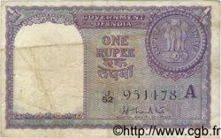 1 Rupee INDE  1957 P.075b TB