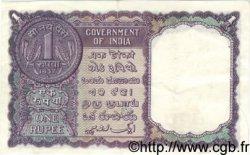 1 Rupee INDE  1957 P.075f TTB