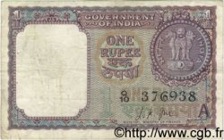 1 Rupee INDE  1963 P.076a TB