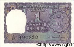 1 Rupee INDE  1966 P.077a SPL