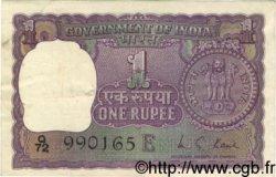 1 Rupee INDE  1973 P.077l TTB