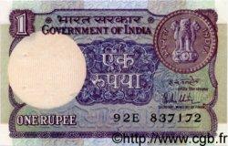 1 Rupee INDE  1981 P.078a SPL
