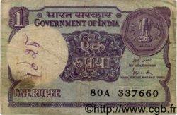 1 Rupee INDE  1989 P.078Ad B