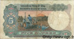 5 Rupees INDE  1970 P.080a TB