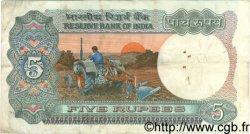 5 Rupees INDE  1983 P.080l TB
