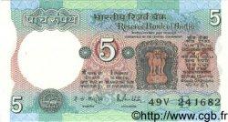 5 Rupees INDE  1983 P.080l SUP