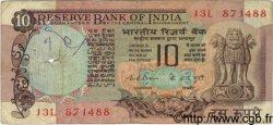 10 Rupees INDE  1975 P.081b B+