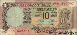 10 Rupees INDE  1977 P.081d TB