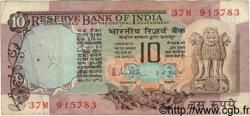 10 Rupees INDE  1983 P.081h TB