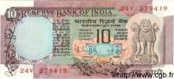 10 Rupees INDE  1983 P.081h SPL