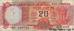 20 Rupees INDE  1981 P.082f TB