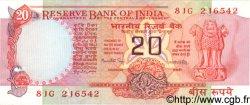 20 Rupees INDE  1981 P.082f SUP