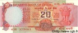 20 Rupees INDE  1981 P.082f SPL