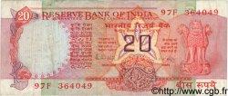 20 Rupees INDE  1983 P.082h TB