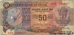 50 Rupees INDE  1981 P.084b B