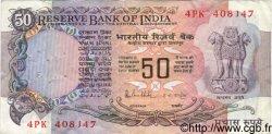 50 Rupees INDE  1983 P.084c TB