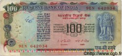 100 Rupees INDE  1977 P.086a TB