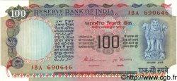 100 Rupees INDE  1984 P.086d SPL