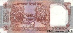 10 Rupees INDE  1984 P.088b TTB+