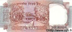 10 Rupees INDE  1990 P.088c SPL