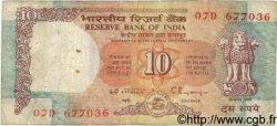 10 Rupees INDE  1990 P.088d TB