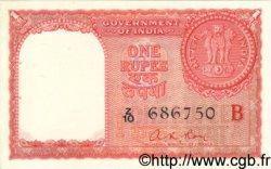 1 Rupee INDE  1957 P.R1 SPL