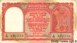 10 Rupees INDE  1957 P.R3 pr.SUP
