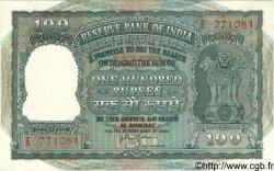 100 Rupees INDE  1957 P.R4 SUP