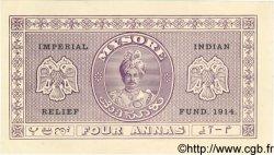 4 Annas INDE  1914 PS.383 NEUF