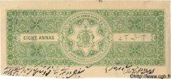 8 Annas INDE  1943 P.... SUP