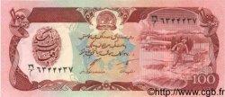 100 Afghanis AFGHANISTAN  1991 P.058c NEUF