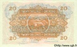 20 Shillings Ou 1 Pound AFRIQUE DE L