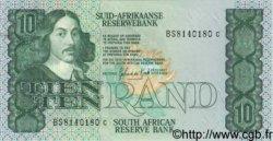 10 Rand AFRIQUE DU SUD  1982 P.120d SPL