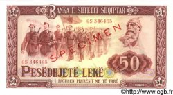 50 Leke ALBANIE  1976 P.45s2 NEUF