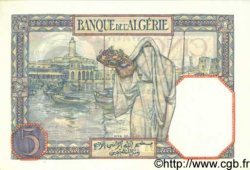 5 Francs ALGÉRIE  1940 P.077a NEUF
