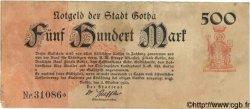500 Mark ALLEMAGNE Gotha 1922 P.- TTB